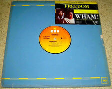 "PHILIPPINES:WHAM! - Freedom 12"" EP/LP,Long Version, RARE, GEORGE MICHAEL"