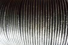 50 mètres cordon cuir lacet cuir noir Ø 1 mm