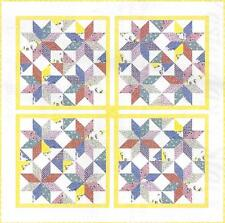 Yesterday's Stars English paper piecing quilt pattern by Paper Pieces Company