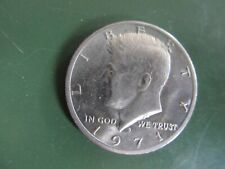 Lot of 6 US Kennedy Half Dollar Coins (3) 1971 - (1) 1974 - (1) 1977 - (1) 1990