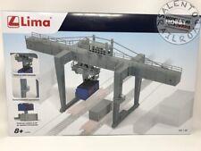 Lima HL8000 1/87 Portique de Manutention avec 2 Conteneurs