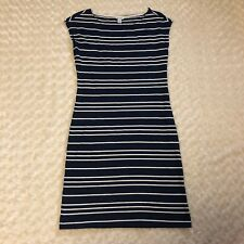 Nautica Blue White Striped Sleeveless Dress XS Summer Nautical