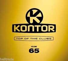 KONTOR - TOP OF THE CLUBS VOL. 65 - 3CD DIGIPACK 2014 * NEW & SEALED * NEU *