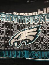 NWT Philadelphia Eagles T-Shirt  NFL Super Bowl Champions  LII 2018 Size XLarge