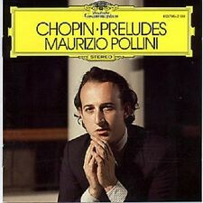 "MAURIZIO POLLINI ""CHOPIN: PRELUDES OP. 28"" CD NEUWARE"