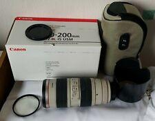 Canon EF 70-200mm F/2.8 USM Lente IS L Excelente Estado