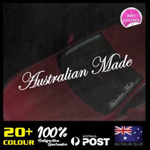 Australian Made Windscreen Decal 500x70mm JDM Sticker Vinyl Lower Car Static
