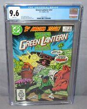 GREEN LANTERN #202 (White Pages) CGC 9.6 NM+ DC Comics 1986 corps