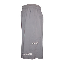 Miken Microfiber Performance GRAY Shorts SMALL, new