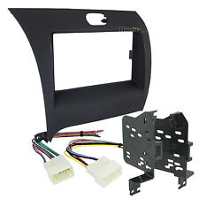 95-7356B Double-Din Radio Install Dash Kit for Forte, Car Stereo Mount & Wires