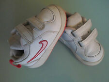 Nike Toddler Boys Size 4 White Trainers