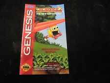 Sega GENESIS Pac-Man 2 The New Adventures Instruction Book Manual Only