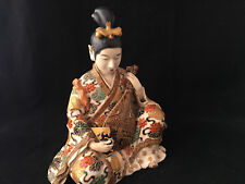 Japon Sculpture Satsuma Japanese Antique Divinité Ancien