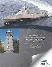 USS Manchester (LCS 14) - US Navy Christening Program - 2016