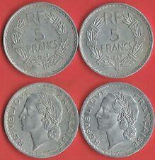 5 FR 1947 NORMAL 9 OUVERT ET LA B 9 FERMÉE COTE 10 € VOIR PHOTO ET DESCRIPTIF
