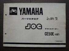 JDM YAMAHA JOG CE50 E 48F 27V Original Genuine Parts List Catalog