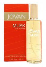 JOVAN MUSK FOR WOMAN EAU DE COLOGNE 96ML SPRAY - WOMEN'S FOR HER. NEW