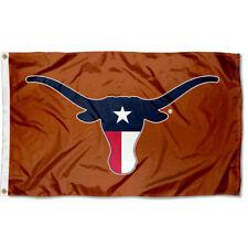 Texas Longhorn Flag Texas State Colors Logo