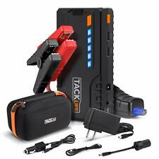 TACKLIFE T6 Car Jump Starter - 600A Peak 12V Auto Battery Jumper (up to 6.5L gas