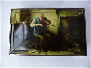 1950's Collectable Toffee Tin - The Violinist - Collectable Tins