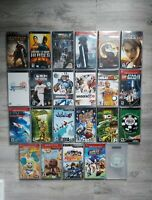 Pick and Choose a PSP Game! Preowned, CIB w/Case OR DISK only, Tested&Works