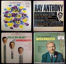 1950s & 60s Piano Jazz Lp Records 4 Lot - George Feyer - Skitch Henderson - PLUS