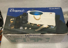 Elegance by medelco fine silver/gold jewelry ultrasonic cleaner NIB NOS