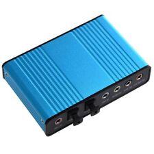 6 Canales USB 5.1 Tarjeta de Sonido Externa S / PDIF Q5I1