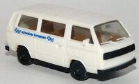 Herpa - VW Volkswagen T3 Bus TV Schweizer Fernsehen Modell 1:87 H0