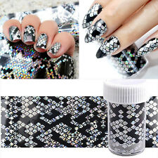 2X 3D Snake Design Nail Art Manicure Tips Nail Foil Sticker Decal DIY Decoration
