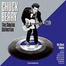 Chuck Berry - Singles Collection (White Vinyl) [New Vinyl LP] Colored Vinyl, Whi