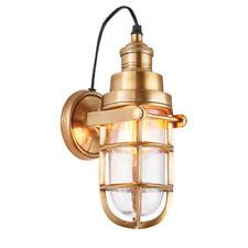 Brass LED Modern Wall Lights