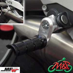 Honda NC 750 X Faired 2015 MFW Vario 30mm Adjustable Front Footrests