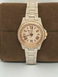 Fossil CE1090 Women's Pink Stainless Steel Analog Dial Quartz Wrist Watch  Bb566