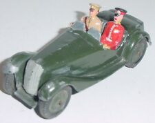 Old BRITAINS 1950s Metal, Staff Car With Driver & General, 3 Piece Set #1448