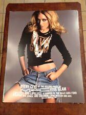 Mac Cosmetics CHLOE SEVIGNY Viva Glam V 22x28 Advertising Sign