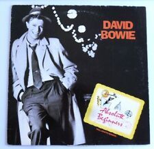 MAXI 45 TOURS DAVID BOWIE BOF ABSOLUTE BEGINNERS FRANCE 1986