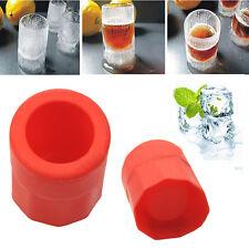 Tasse-Form Silikon Eiswürfel Form Schnapsglas Hersteller Behälter Tools Hot IMAX