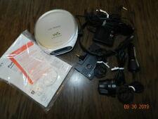 Sony Walkman Car Ready CD player power adaptor Car charger cassette D-EJ368CK