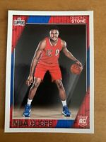 2016-17 NBA Hoops #284 Diamond Stone Rookie Card Clippers RC