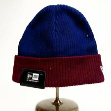 New era boys 100% authentic Skully embroidered one size Navy blue/Burgundy