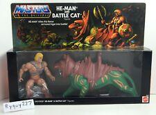 MOTU, Commemorative Battle Cat & He-Man, 2 pack, sealed box, MISB, figure, MOC