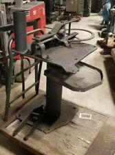 Hossfeld #2 Manual Tube/Pipe Bender on Floor Stand / Pedestal
