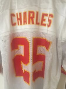 Kansas City Chiefs Jamaal Charles NFL White Jersey Men's XL NWT 40.00