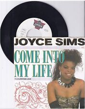 "Joyce Sims, Come into my life, G/VG  7"" Single 999-163"