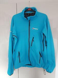 Berghaus Windstopper Jacket Blue Size Small