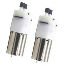 2pcs 12v Dc 370 High Power Small Mini Micro Air Pump Aquarium Air Vacuum 3