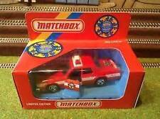 MATCHBOX IAFF KING SIZE FIRE CHIEF VEHICLE CAR K78/SA RARE - 1990 - NEW