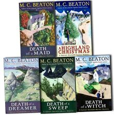 M.C. Beaton Hamish Macbeth Murder Mystery 5 Books Collection Pack Se- A Highland