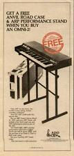 1979 THE ARP OMNI WORLD'S HOTEST SELLING SYNTHESIZER AD